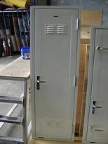 Direct Glazed Facia Door With Pressed Aluminium Vents