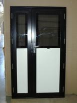 Direct Glaze Single Facia Door With Leaf