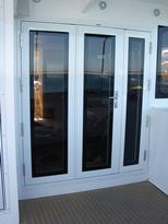Direct Glazed Triple Facia Door, Alucraft - Lous Cat